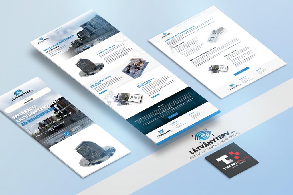 Weboldal tervezés és fejlesztés